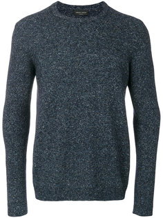пуловер с ребристой отделкой Roberto Collina