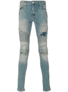 джинсы с рваными деталями Represent