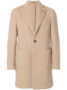 однобортное пальто Gabriele Pasini