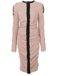платье с присборенной отделкой Marco Bologna