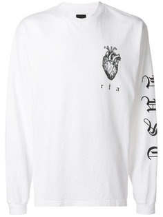пуловер с принтом сердца Rta