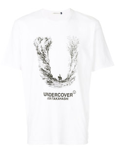 футболка с графическим принтом и логотипом Undercover