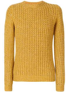 вязаный текстурный свитер Nuur