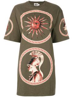 длинная футболка с принтом Fausto Puglisi