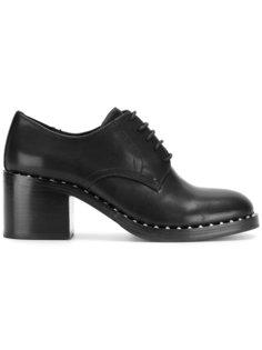туфли оксфорды с заклепками Ash