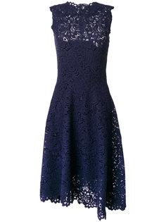 кружевное платье с высоким воротом  Ermanno Scervino