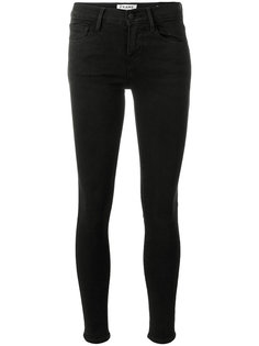 укороченные джинсы скинни  Frame Denim