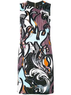 платье Baroccoflage Versace