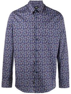 рубашка с принтом Jaguar  Fendi