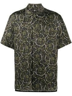 рубашка с короткими рукавами с принтом виноградной лозы Edward Crutchley