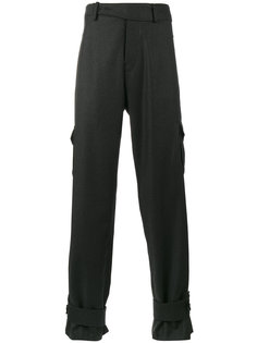 брюки карго с завышенной талией JW Anderson
