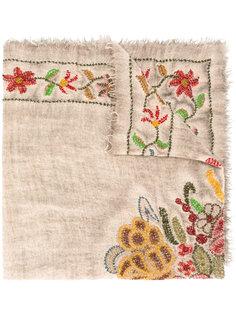 шарф с рваными деталями Faliero Sarti
