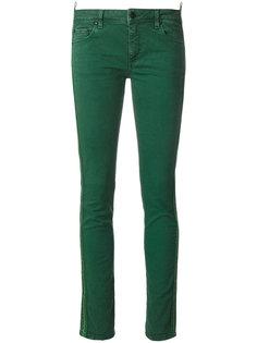 джинсы скинни с полосками по бокам Off-White