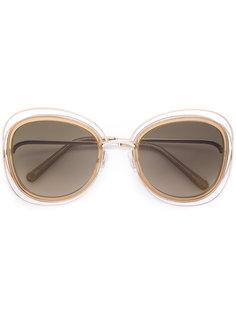 объемные солнцезащитные очки Poppy Chloé Eyewear