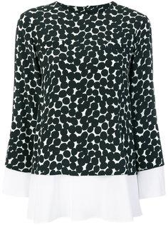 блузка с рисунком из кругов Barba
