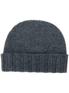 шапка-бини в рубчик Drumohr