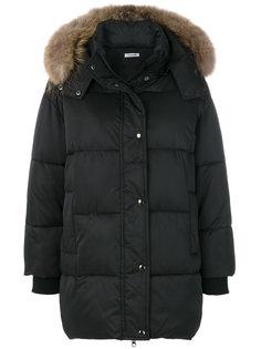 куртка с капюшоном с меховой оторочкой P.A.R.O.S.H.