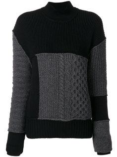 вязаный свитер с косами McQ Alexander McQueen