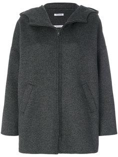 пальто на молнии с капюшоном P.A.R.O.S.H.