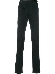 зауженные брюки с простроченной отделкой D.Gnak