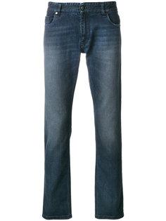 джинсы с выцветшим эффектом Fendi