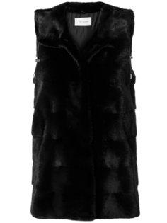 длинная куртка-жилет  Yves Salomon