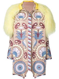 пальто с вышивкой Delight Yuliya Magdych