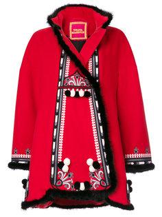 пальто с вышивкой Hutsil Yuliya Magdych