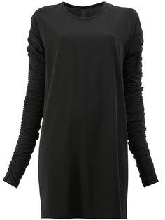 платье с присборенными рукавами Ilaria Nistri