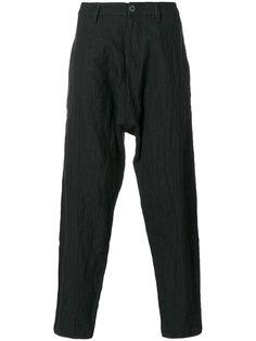 брюки с заниженной проймой Ziggy Chen