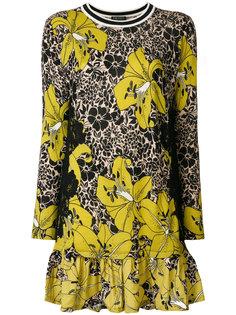 платье-футболка с цветочным принтом  Twin-Set