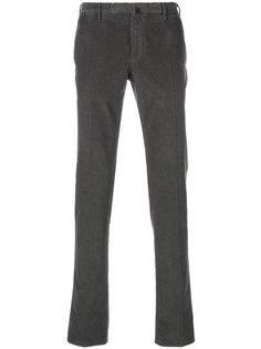 вельветовые брюки средней посадки Incotex