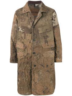 пальто в стиле милитари  Ziggy Chen