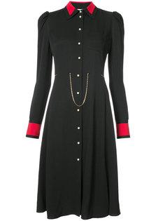 chain detail button down dress Altuzarra