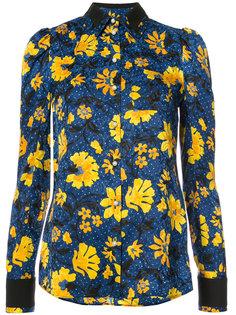 рубашка с цветной вышивкой Altuzarra