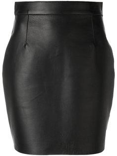 короткая приталенная юбка Dsquared2