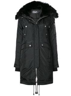 пальто с меховой оторочкой Brera Nicole Benisti
