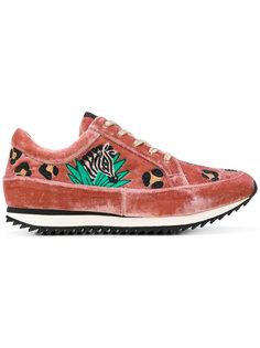 кроссовки на шнуровке Charlotte Olympia