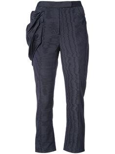 прямые брюки с декоративной драпировкой Rosie Assoulin