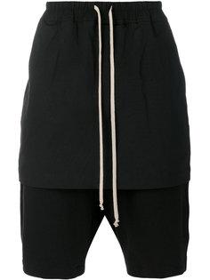 многослойные шорты Rick Owens DRKSHDW