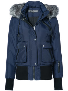 пальто с меховой оторочкой Fordham  Nicole Benisti