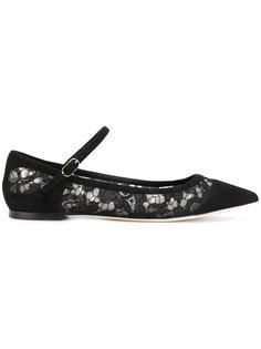 балетки с закругленным носком Dolce & Gabbana
