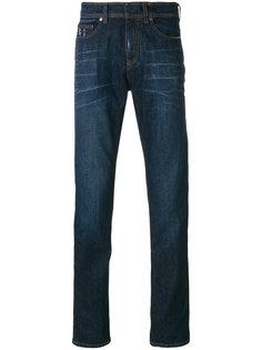 джинсы с выцветшими деталями Neil Barrett