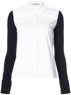slim fit knitted top D.Exterior