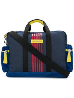 полосатая сумка Dsquared2