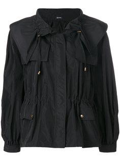 свободная куртка со шнурком  Jil Sander Navy
