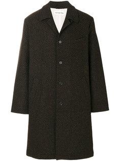 твидовое пальто Universal Works