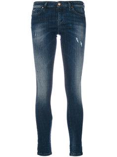 укороченные джинсы слим  Diesel