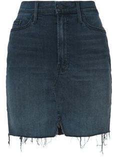 мини-юбка с бахромой  Mother