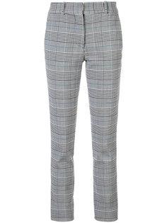 узкие клетчатые брюки Victoria Beckham